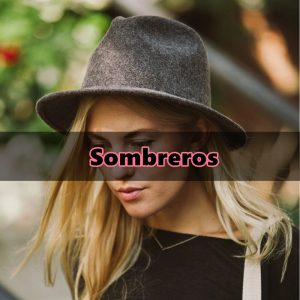 SOMBREROS HIPSTER MUJER